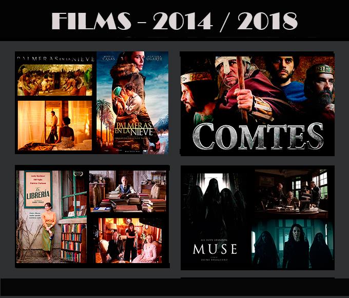 Movie-Men Técnicos en Ilumiación trabajos en Cine 2013-2018