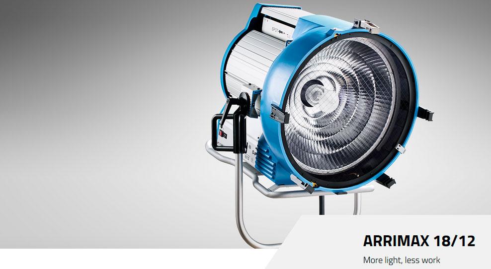 ARRI HMI M-SERIES - Arrimax 18/12