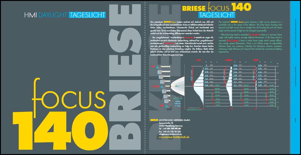 Focus 140 - BRIESE Lichttechnik - Brochure