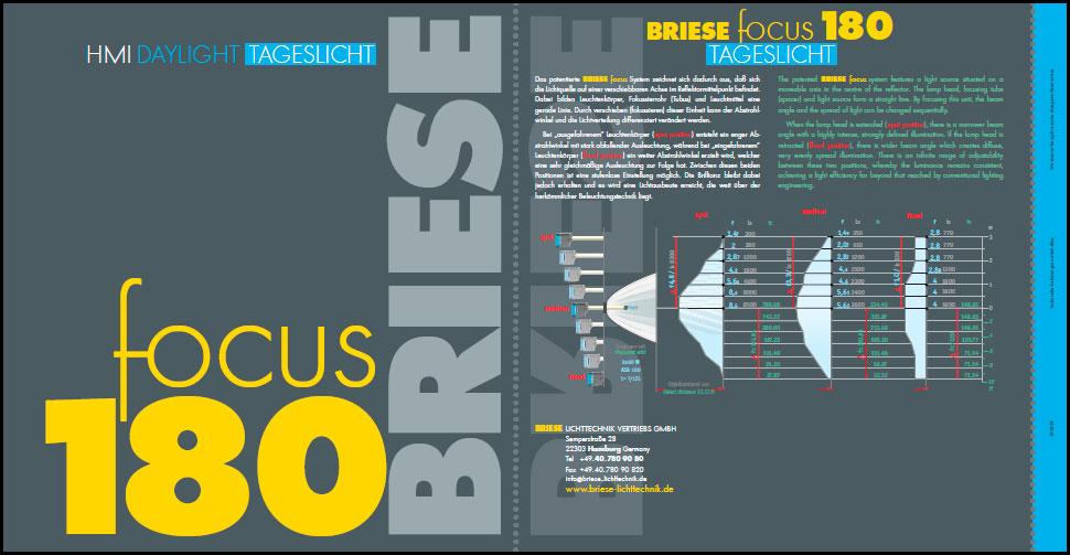 Brochure Focus 180 - BRIESE Lichttechnik