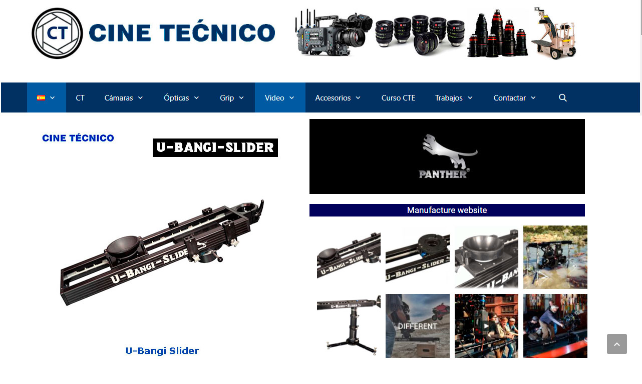 Web Panther U-BANGI Slider