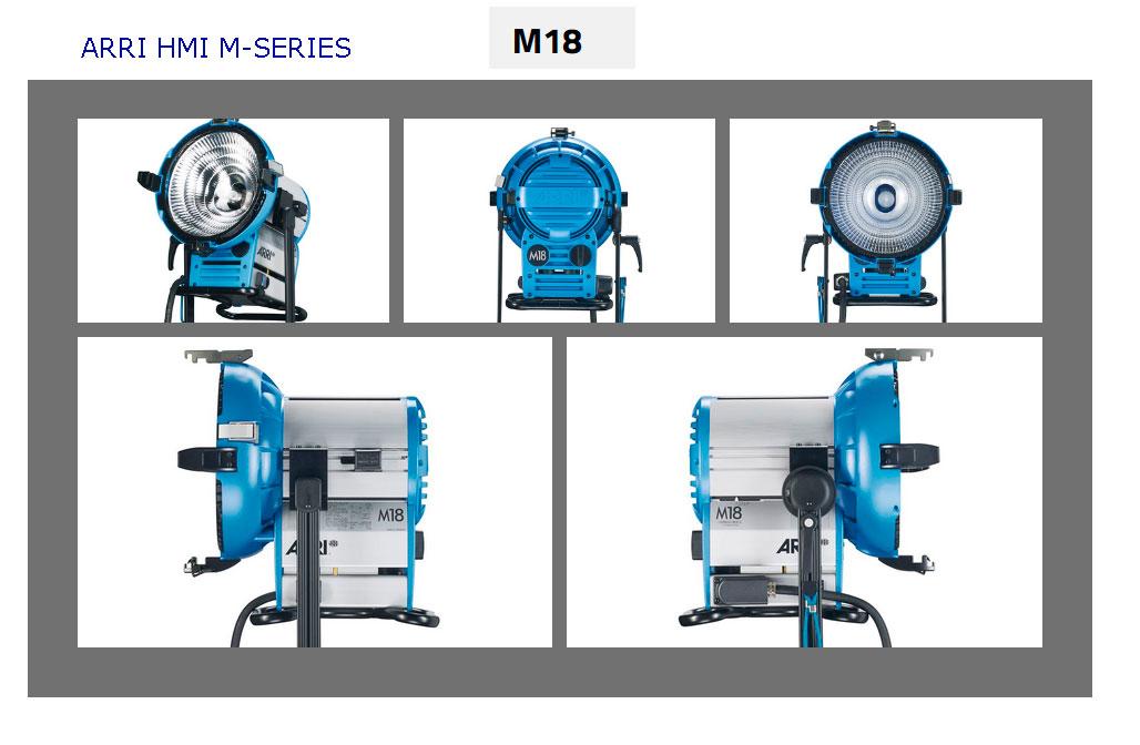 ARRI HMI M-SERIES - M18