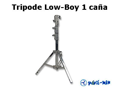 Tripode Low-Boy 1 caña 1022