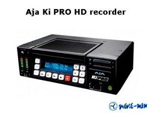 Alquiler Aja Ki pro HD recorder