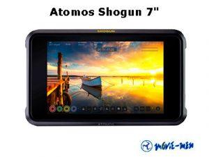 """Alquiler Atomos Shogun 7"""" / Movie-Men"""