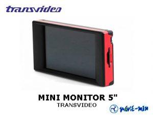 """Mini Monitor 5"""" TRANSVIDEO"""