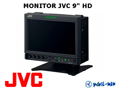 "Alquiler Monitor JVC HD 9"""