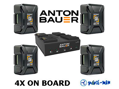 Anton Bauer 4X ON BOARD Battery