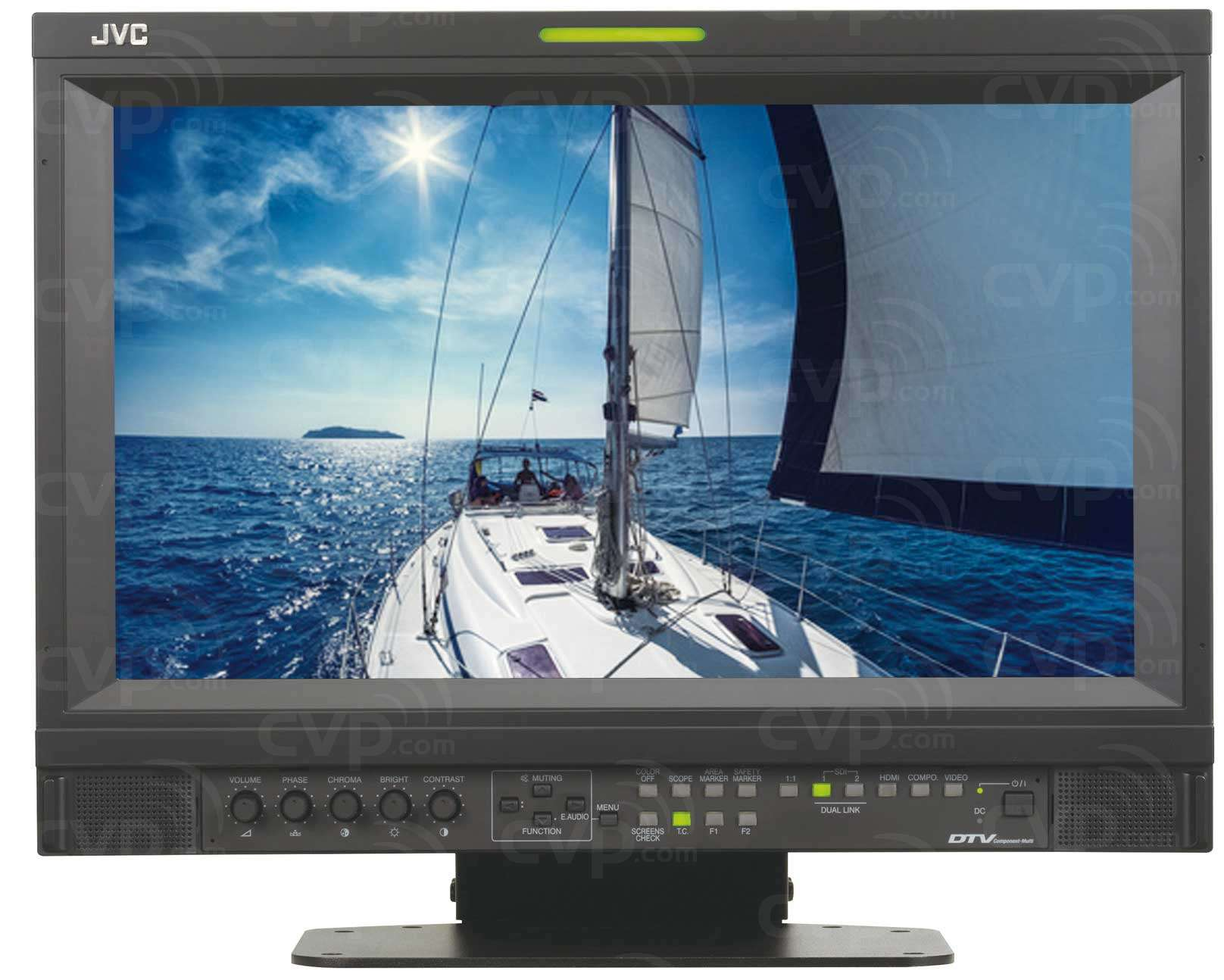 "Alquiler Monitor JVC HD Broadcast LCD 17"" - SERIE DTV"