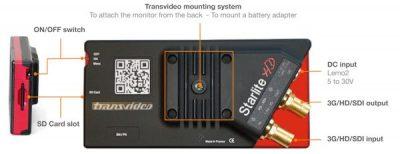 """Mini Monitor 5"""" TRANSVIDEO Starlite"""