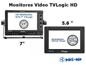 Alquiler Monitores Video TVLogic HD