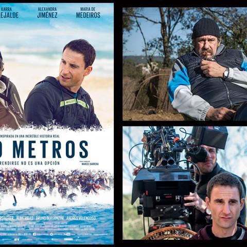 Trabajo Iluminación Cine Movie-Men / 100 metros