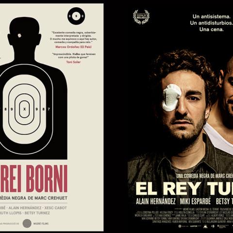 Trabajo Iluminación Cine Movie-Men / El Rei Borni - El Rey Tuerto