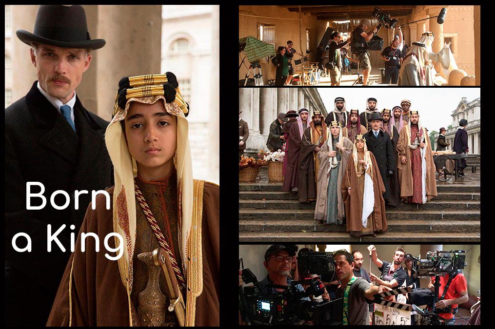 Trabajos Cine Movie-Men 2018 / Born a King