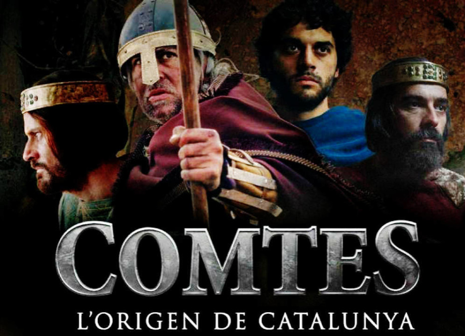 Trabajo Iluminación Cine Movie-Men / Comtes. L'origen de Catalunya (TV Series)