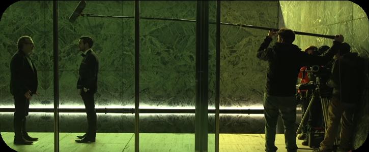 Trabajo Iluminación Cine Movie-Men / Contratiempo
