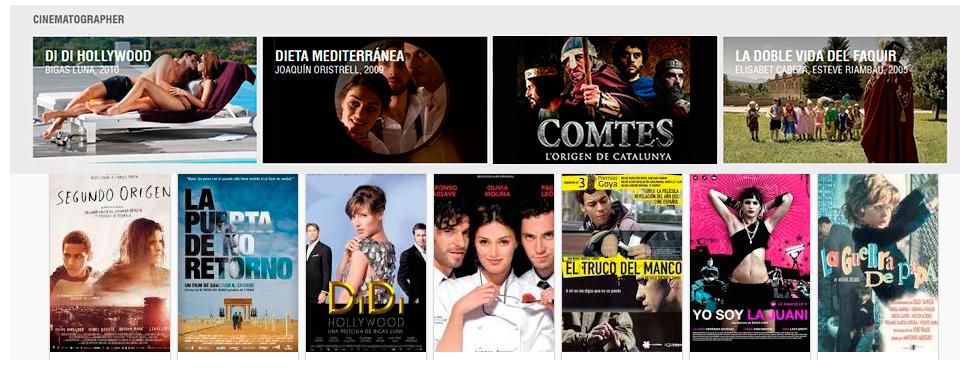 Films Albert Pascual Director de Fotografía
