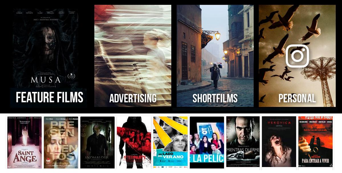 Films Pablo Rosso Director de Fotografía