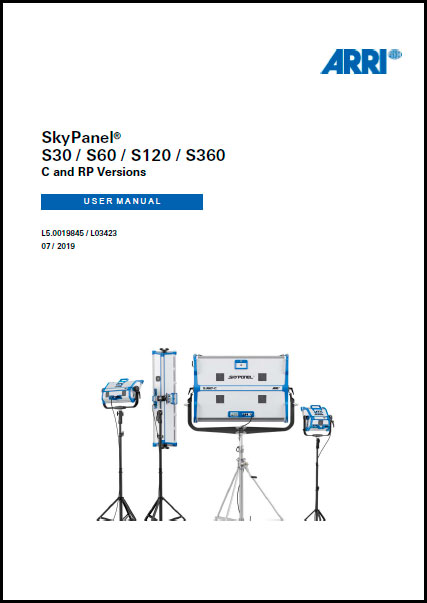 Arri SKY PANEL S30-C - User Manual