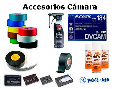 Alquiler Accesorios-Cámara Movie-Men