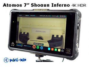 Alquiler Atomos 7″ Shogun Inferno 4K HDR