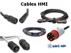 Alquiler Cables HMI