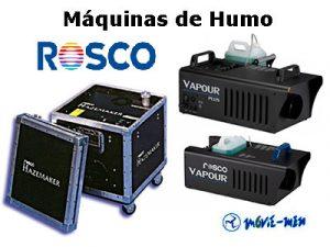 Alquiler Máquinas de Humo Rosco