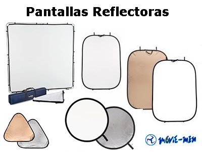 Alquiler Pantallas Reflectoras Movie-Men