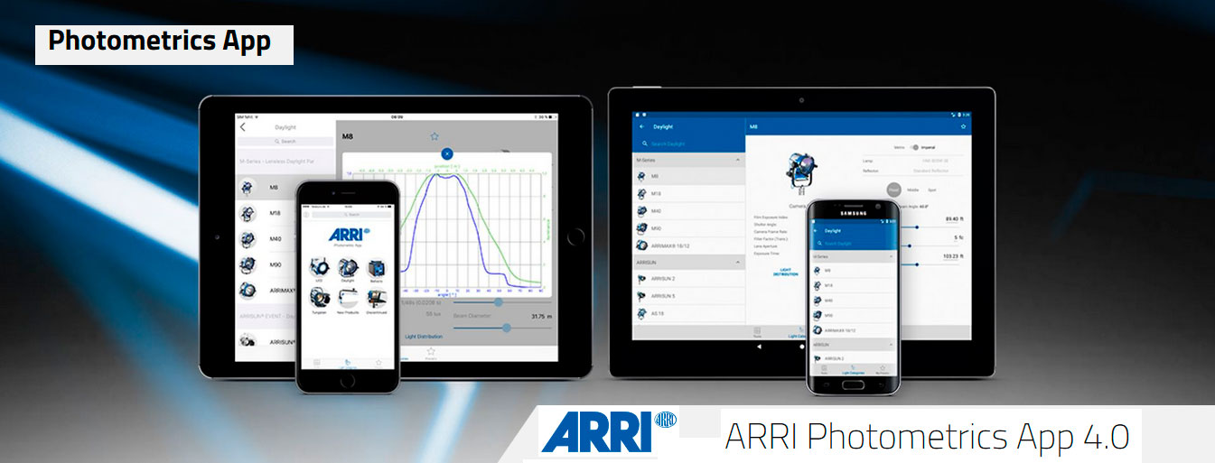 ARRI Photometrics APP 4.0