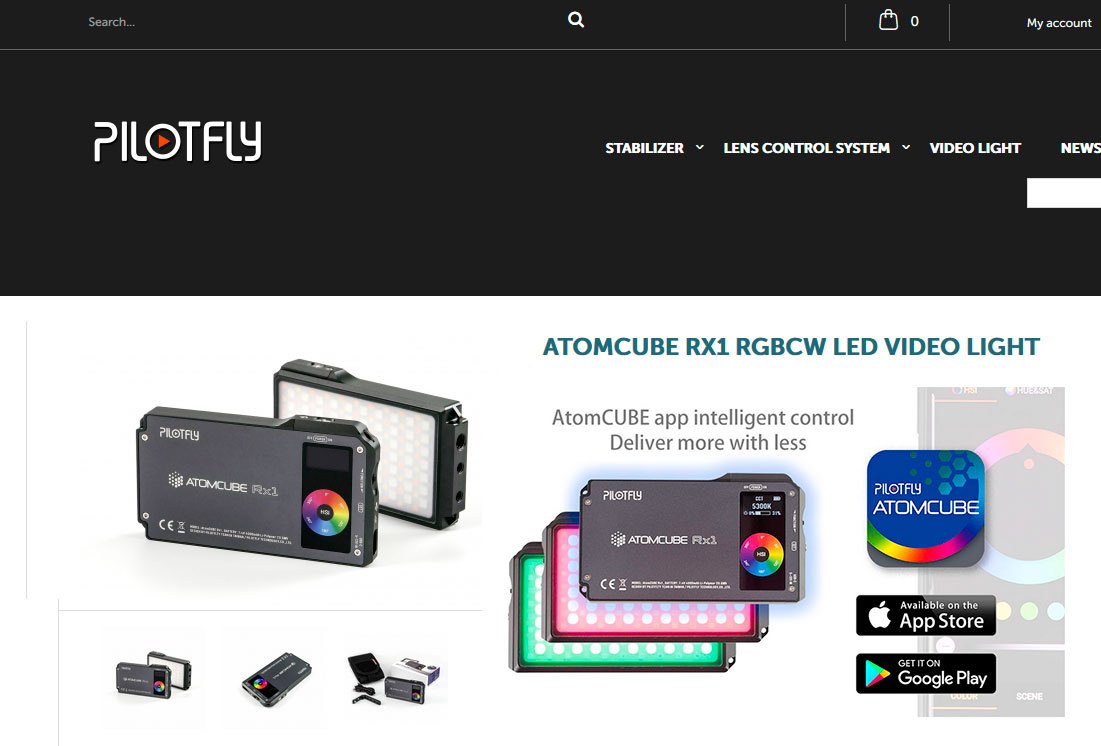 PILOTFLY AtomCUBE RX1 - WEB