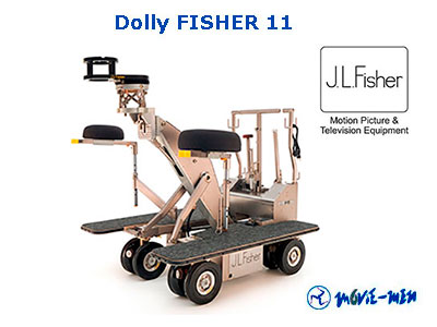 Alquiler Dolly FISHER 11 Movie-Men