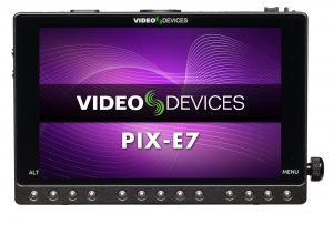 Alquiler Video Devices PIX-E7
